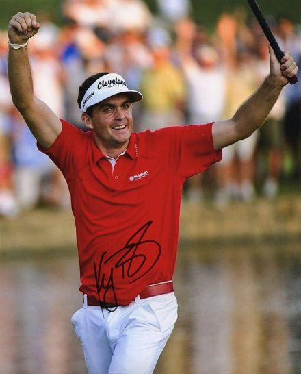 Keegan Bradley, signed 10x8 inch photo.